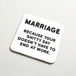 'Marriage' Coaster