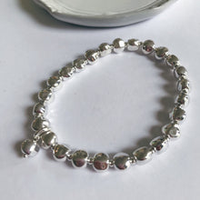 Load image into Gallery viewer, Hammered Ball Bracelet