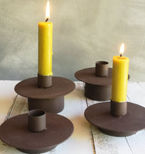 Load image into Gallery viewer, Rustic Candle Holder
