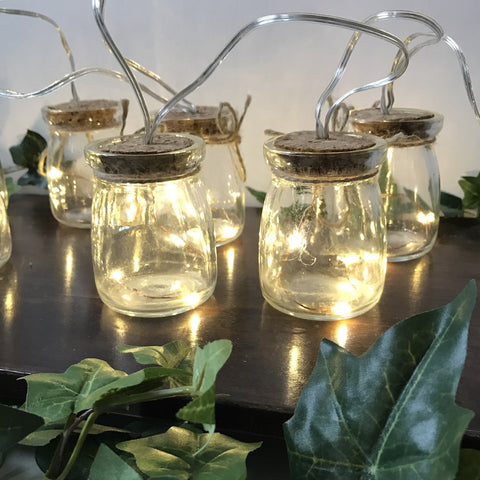 String of Jar Lights
