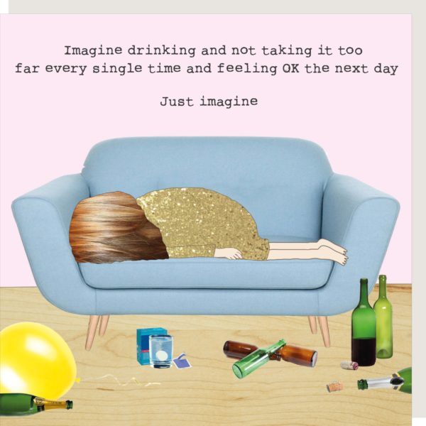 'Just Imagine' Card