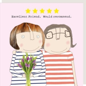 'Excellent Friend' Card