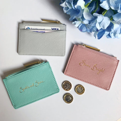 Perfect Slogan Card Holder