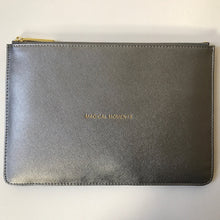 Load image into Gallery viewer, Slogan Clutch Bag New Metallics