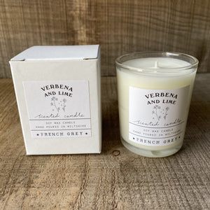 Verbena and Lime Votive Candle