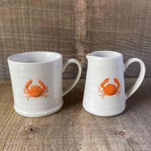Crab Mug & Jug Set OUT OF STOCK
