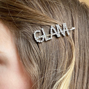 GLAM Diamanté Hair Clip
