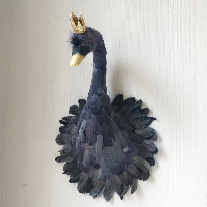 Hanging Feather Black Swan OUT OF STOCK