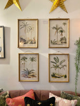 Load image into Gallery viewer, Set of Four Palm Tree Prints