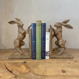 Hare Bookends