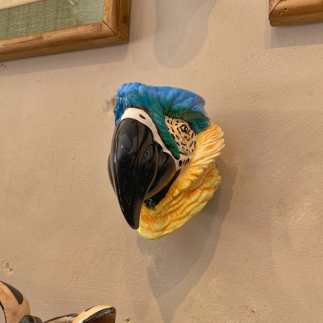 Parrot Wall Vase