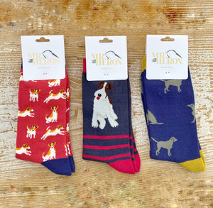 Men's Dog Bamboo Sock Set