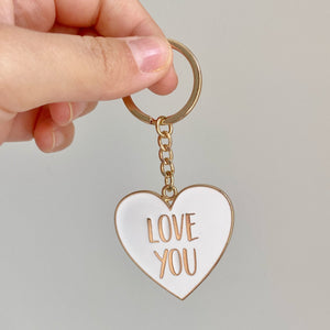 'Love You' Keyring