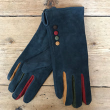 Load image into Gallery viewer, Suede Gloves with Buttons