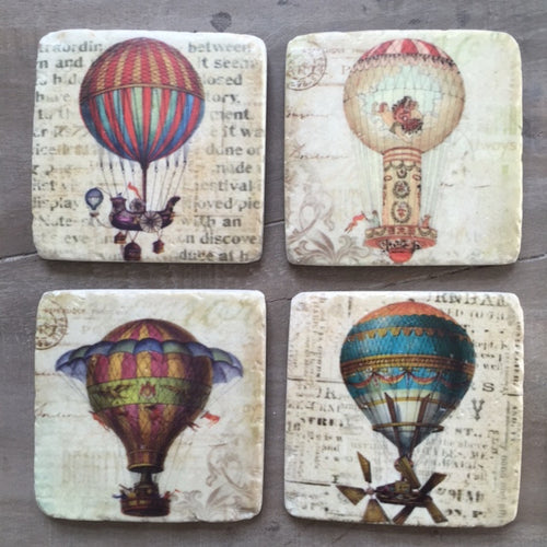 Airship Coasters Set of Four
