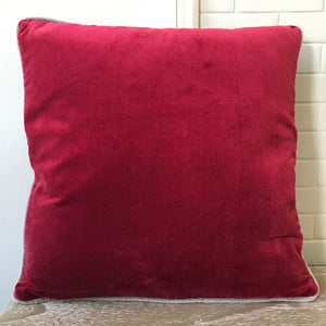 Velvet Cushion with Inner