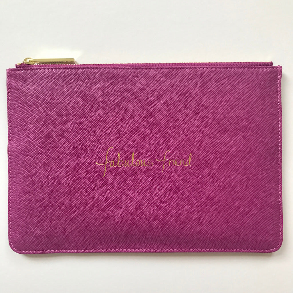 Slogan Clutch Bag New Season
