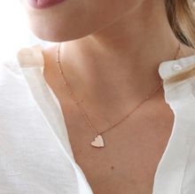 Load image into Gallery viewer, Rose Gold Heart Necklace