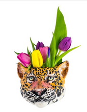Load image into Gallery viewer, Leopard Wall Vase