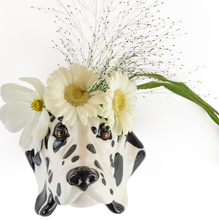 Load image into Gallery viewer, Dalmatian Wall Sconce Vase