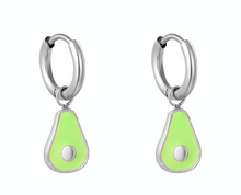 Load image into Gallery viewer, Little Avocado Earrings