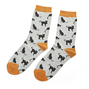 Ladies Cat Bamboo Socks