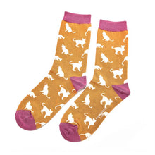 Load image into Gallery viewer, Ladies Cat Bamboo Socks