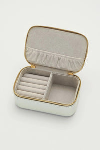 'Shine Bright' Mini Jewellery Box Silver