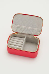 'Woman On A Mission' Mini Jewellery Box Coral