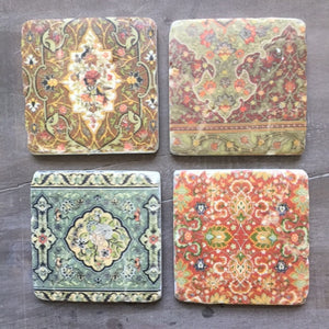 Liberty Print Coasters Set of Four