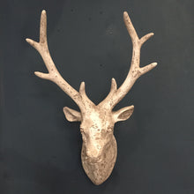 Load image into Gallery viewer, Stone Effect Stag Head