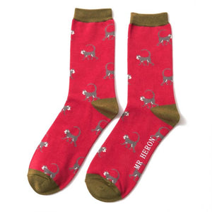 Mens Bamboo Socks Monkeys