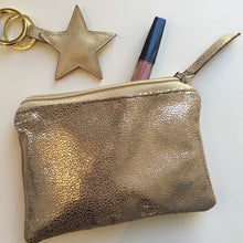Load image into Gallery viewer, Metallic Shimmer Pouch