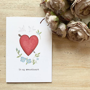 'To My Sweetheart' Valentine's Day Card