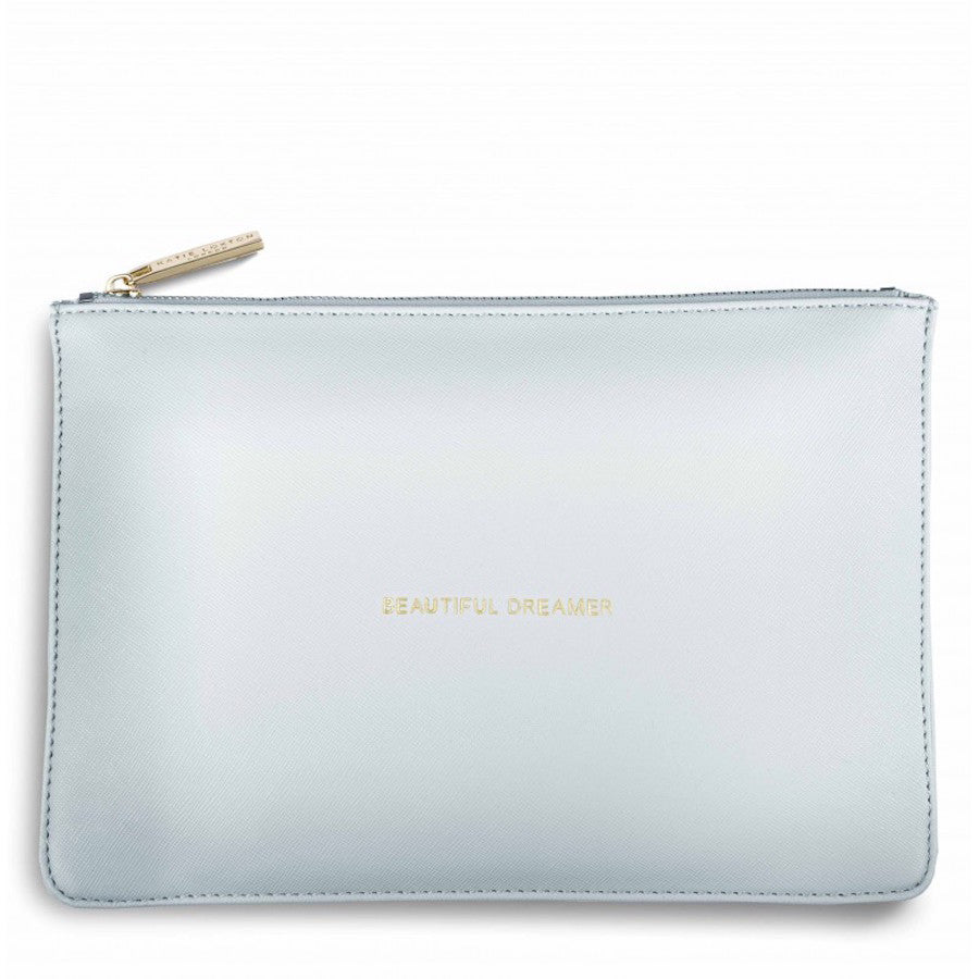 Slogan Clutch Bag