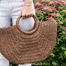 Load image into Gallery viewer, Rattan Handbag