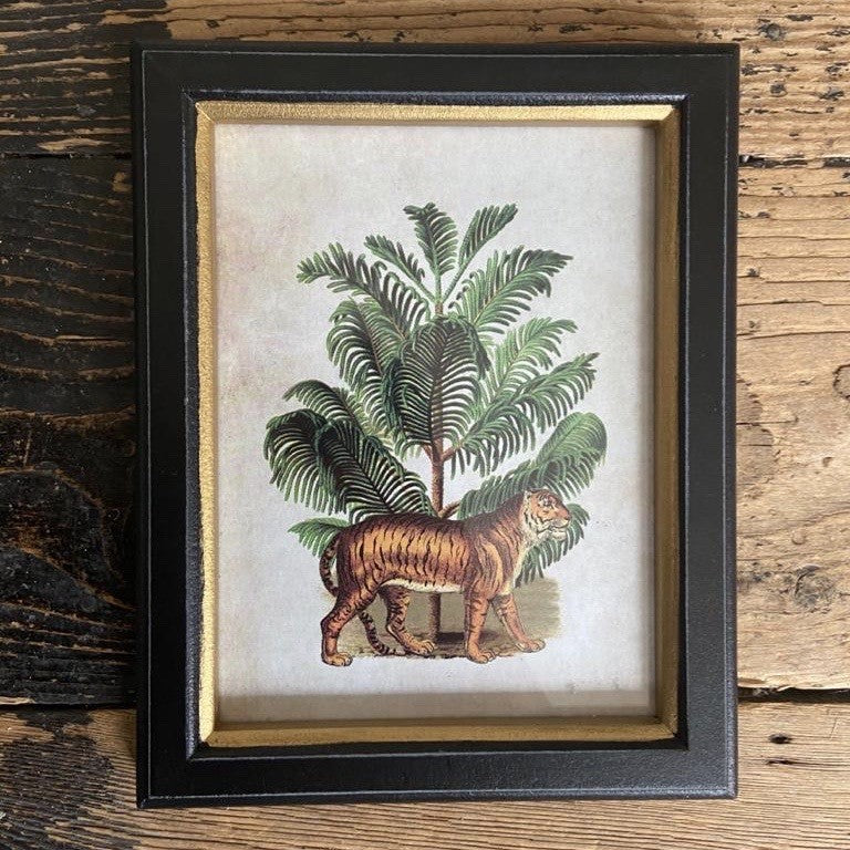 Framed Tiger Print Small