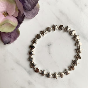 Stars and Hearts Bracelet