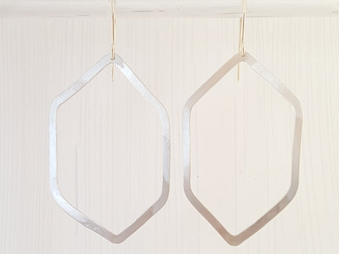 Geometrica Hexagon Earrings