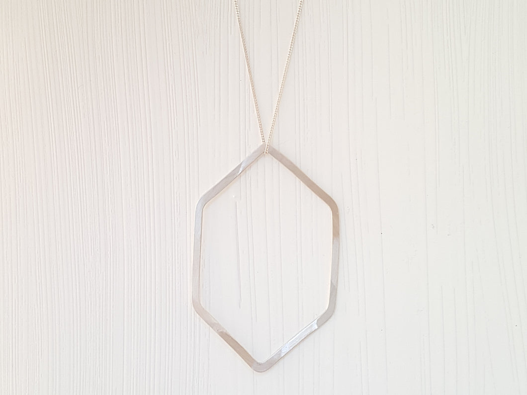 Geometrica Hexagon Necklace