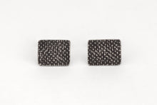 Load image into Gallery viewer, Dark Textured Cufflinks