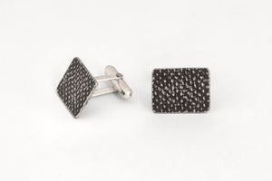 Dark Textured Cufflinks