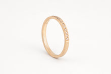 Load image into Gallery viewer, Champagne Diamond Pavè Ring