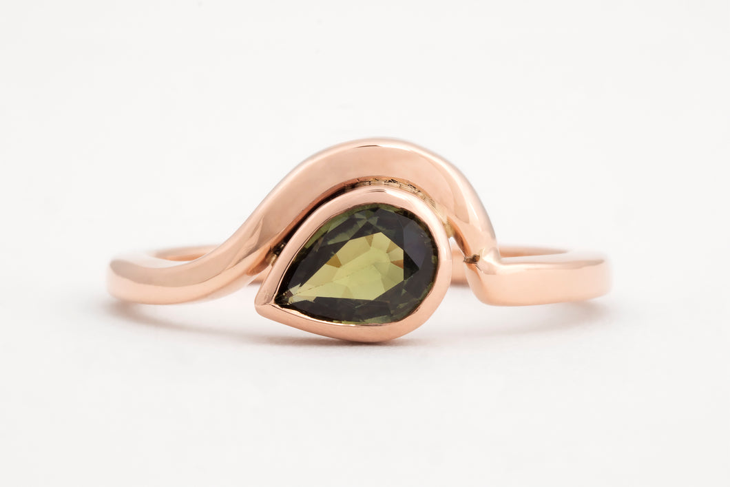 Green Flow Ring