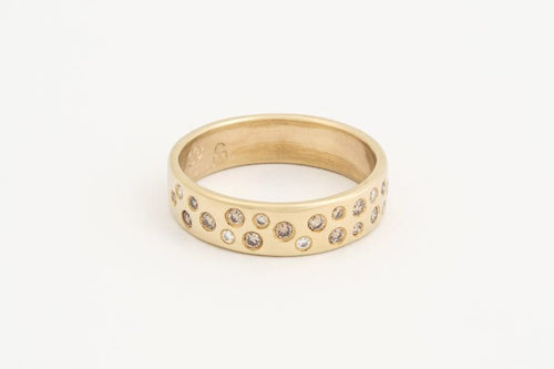 Starry Sky Ring Yellow