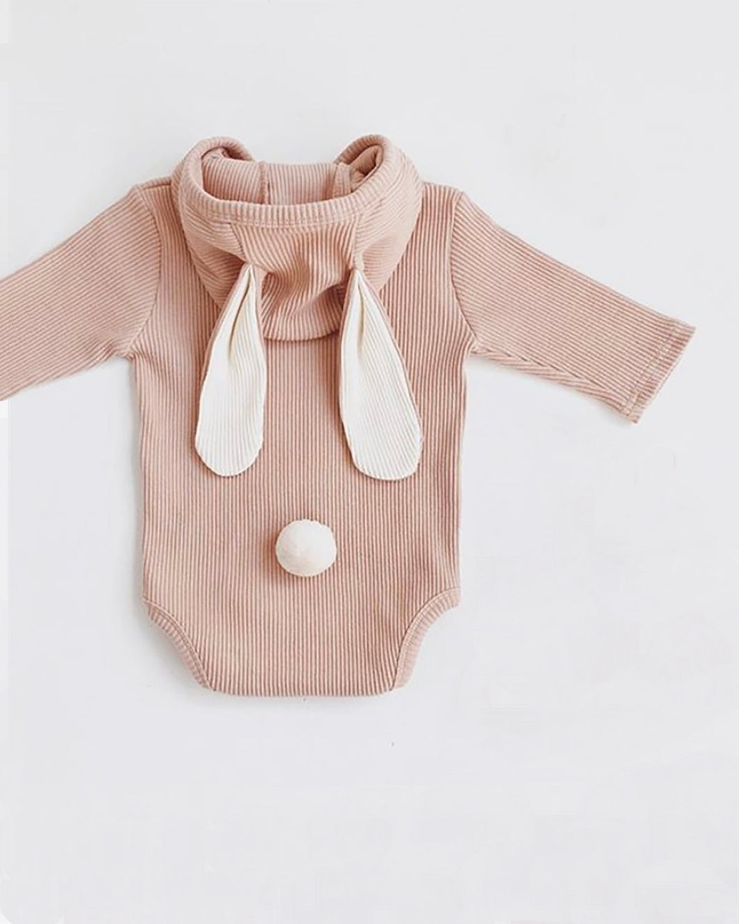 Blush Bunny Bodysuit- Long Sleeve