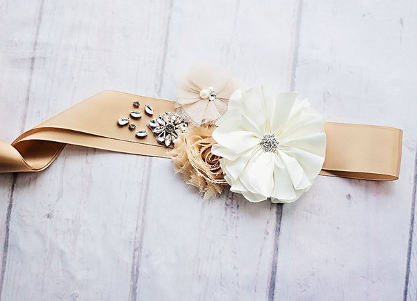 Bridal Belt, Rustic Bridal Sash, Maternity Sash, Bridal Belt, Bridesmaid Sashes, Maternity Sash, Flower Girl Sash