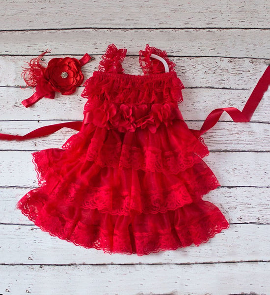 Flower Girl Dress, Red Dress, Rustic Lace Flower Girl Dress, Girls Dresses, Flower Girl Dresses, Toddler Dresses, Country Dress