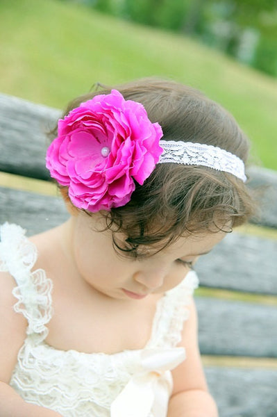 headband...flower headband..big bow..headband..newborn headband..girl headband, toddler headband..photography prop,birthday prop