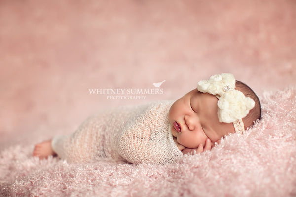 bow headband..newborn headband.. headband...photography props..toddler headband.